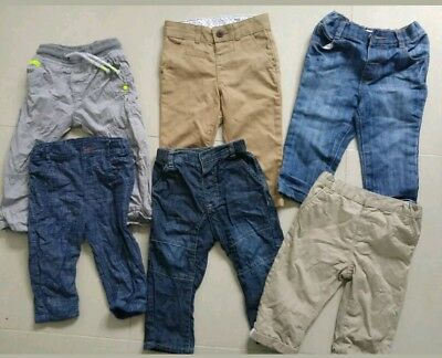 Baby Boy Infant Smart Casual Trousers Jeans Joggers Tracksuit 9-12 months 18-24