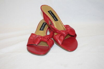 6583669d46b ETIENNE AIGNER Red Leather