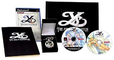 NEW & RARE PS2 Ys The Ark of Napishtim 依蘇 (Japan Limited Collector's Boxset)
