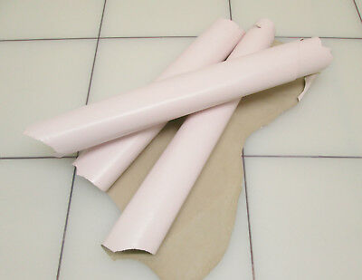 Kid leather for bookbinding Lightweight 0.6mm Pink BARKERS HIDE & SKINS N220