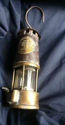 type sl ministry of power safety lamp b/120 No 102 Dented And Worn