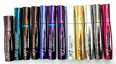 No7 MASCARA NEW BLACK 7ml - VARIOUS SELECTIONS,PLEASE USE DROP DOWN MENU