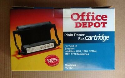 NEW Brother PC-201 replacement cartridge Office Depot brand