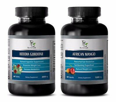 Antioxidant with minerals formula - HOODIA GORDONII – AFRICAN MANGO COMBO -pills