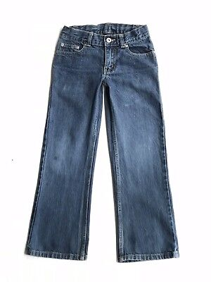 Faded Glory Boys Jeans Size 8S With Adjustable Waist