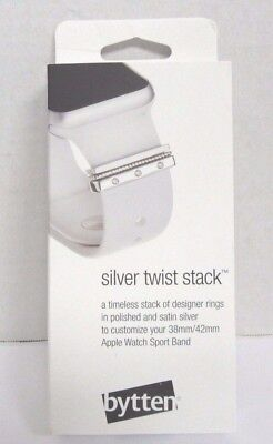 Bytten - Twist Stack strap accessory Bling Silver