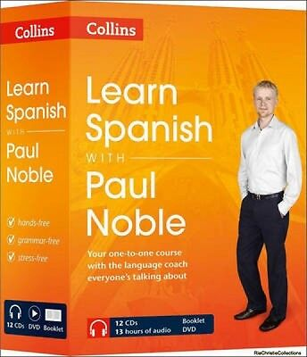 Learn Spanish with Paul Noble Paul Noble CD-Audio New Book Free UK Delivery