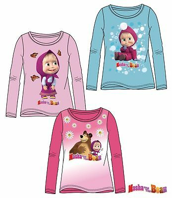 POSTEN MASCHA UND DER BÄR *MASHA AND THE BEAR* Маша и Медведь * Langarmshirt*