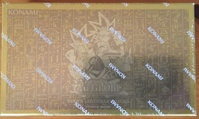 YGO-Yugi`s Legendary Decks 1 Box in deutch NEU & OVP