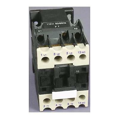 1 x RS Pro 3 Pole Contactor, Contact Rating 18A, 9kW, Coil Voltage 24V ac