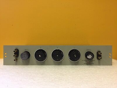 Daven T-693-R 0 to 111 dB, 600 Ohms, Banana Jack, 3 Step Attenuator Network