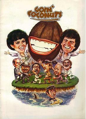 "Donny Osmond - Marie Osmond  ""Coconuts"" Movie Program From 1978"