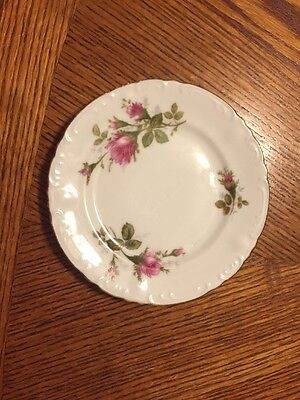 Vintage Collectible Royal Rose Fine China From Japan Dessert Plate