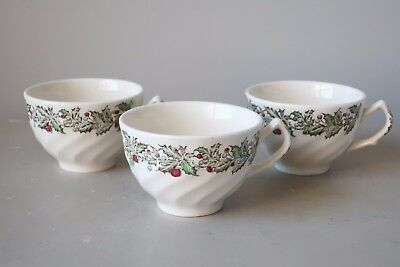 Johnson Brothers Merry Christmas Cups, Set of (3)