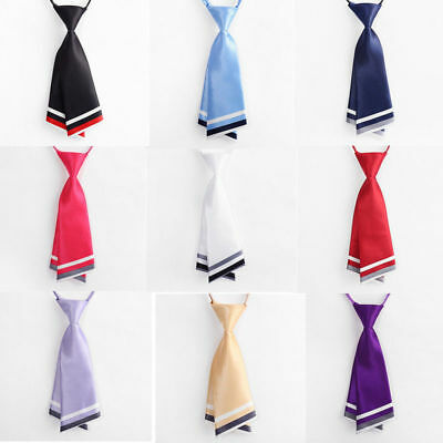 School Uniform Formal Suit Unisex Anime Short Tie Student Cravat Perform Cosplay