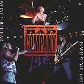 The Best Of Bad Company Live Cd Bad Company Brand New Sealed