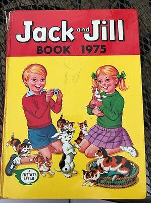Jack And Jill Book 1975 Annual Acceptable Condition