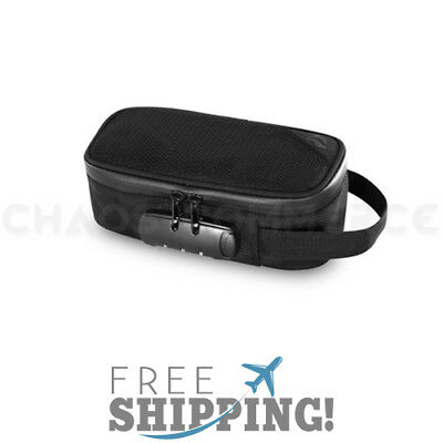 Skunk Sidekick Smell Proof Case w/ Combo Lock - Black