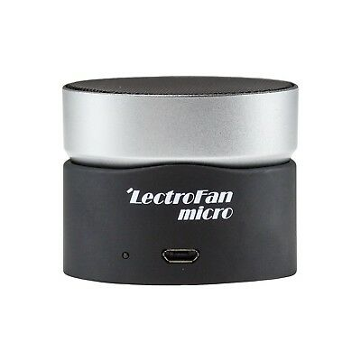LectroFan Micro Wireless Sleep Sound Machine and Bluetooth Speaker with Fan S...