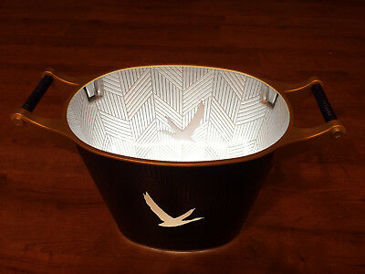 Rare Grey Goose Large 2 Bottle LED Lighted Ice Bucket 2018 Edition With Handles