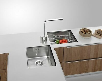 Butterfly Corner Stainless Steel Kitchen Sink Hand Made Double Bowl Under Mount