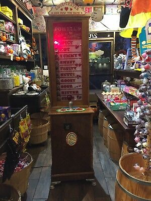Love Tester Oak Coin Operated 25 Cent Arcade Game ManCave 10 years old