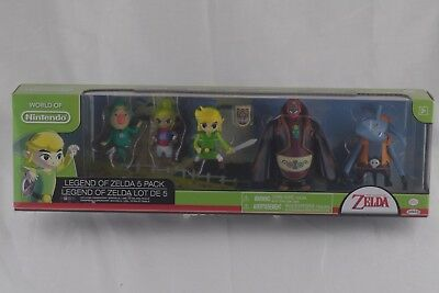 World Of Nintendo Legend Of Zelda 5 Pack With Tingle