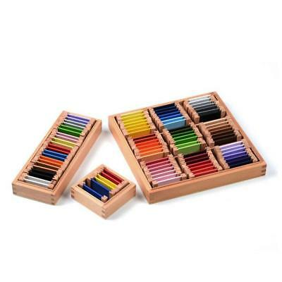 Kids Montessori Early Developing Educational Wooden Toy Xmas Gift- Color Box
