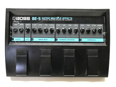Boss BE-5, Multi Effects, Made In Japan, 1989, Guitar Effect Pedal