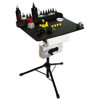 Portable Tattoo workstation by OOLS - Compact stand ready to travel Gifts