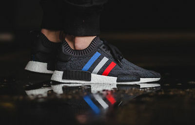 "Adidas Nmd R1 Primeknit - ""tri Colour"" In Size 11.5 Uk 12.5 Us 46 2/3 Eu"
