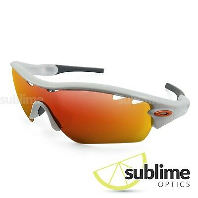 Metallic Fire Ruby Red Polarized Replacement lenses for Oakley Radar path vented
