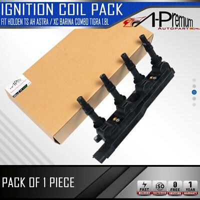 Ignition Coil Pack for Holden TS AH Astra / XC Barina Combo Tigra Z18XE 1.8L