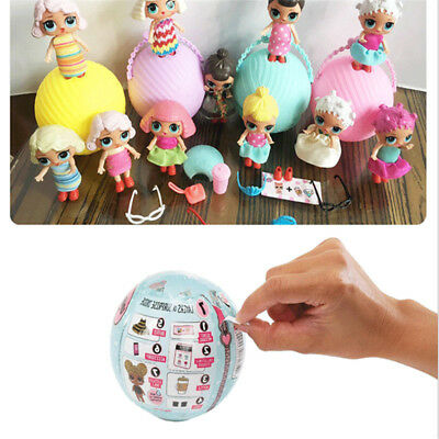 1pcs LOL Surprise Dolls 1 Series Lil Big Sisters Xmas Gift Ball Doll Outagerous