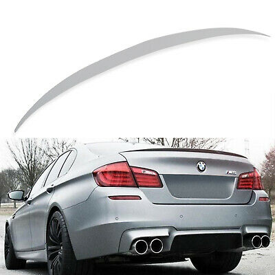 Abs M Tech Rear Boot Trunk Lip Spoiler Wing For Bmw 5 Series F10 Saloon 10-17