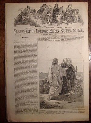 Illustrated London News, supplement, 7 May 1853, DUKE of WELLINGTON, PHOTOGRAPHY