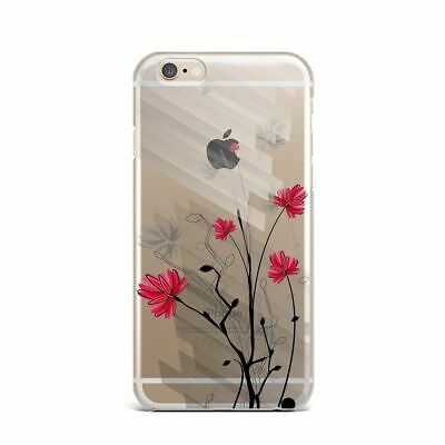 Floral Silicone Case iPhone XS Max XR X Gel Cover Flowers iPhone 4s 5s 7 8 Plus
