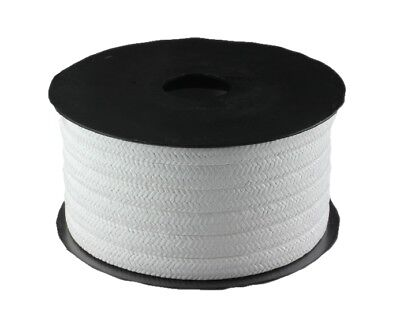 Pure PTFE Gland Packing (Various Sizes, Priced Per Metre)