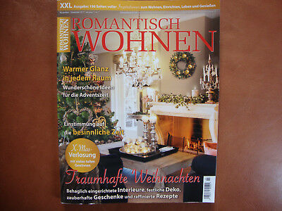 romantisch wohnen xxl ausgabe 11 12 20017 neuwertig eur 1 59 picclick de. Black Bedroom Furniture Sets. Home Design Ideas