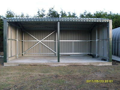 Steel Framed Storage Building / Workshop / Omega Steel /Garage/industrial |No 06