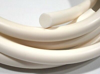 Rubber Silicone Cord / O Ring White 2mm