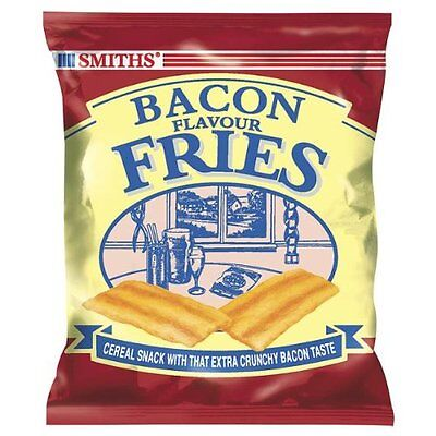 Smiths Bacon Fries Card 24 x 24g