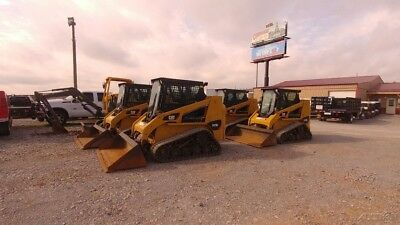 2015 Caterpillar 247 b3  Hyd Quick Attach Cab A/c Track Skid Steer Loader