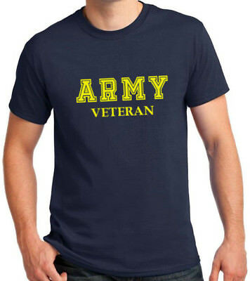 Army Veteran T Shirt Soldier US United States Tee Short Sleeve Military