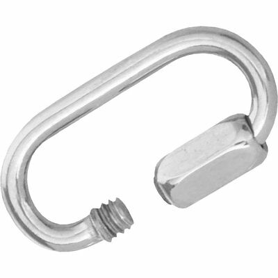 """(Box of 10) 1/8"""" Campbell Stainless Steel Quick Links"""