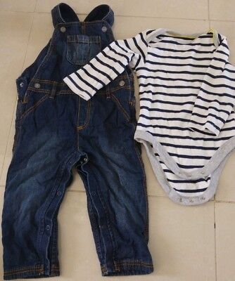 Baby Boys Infant Toddler Clothes Trousers Jeans Shirts Tops Mixed 18-24 months