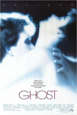GHOST, Original Double Sided 27x40 Movie Poster; ~ Rolled, Reverse Inverse Image