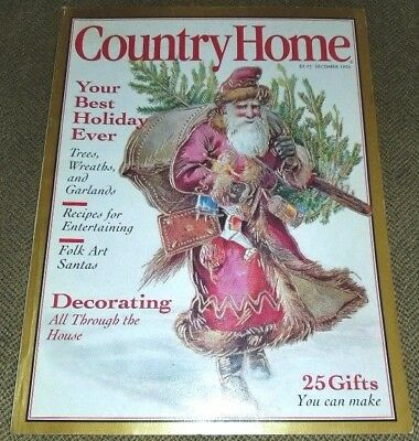 Vintage Country Home December 1996 Decorating Recipes Holiday