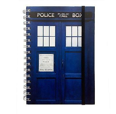 Dr Who - Tardis - Spiral Notebook