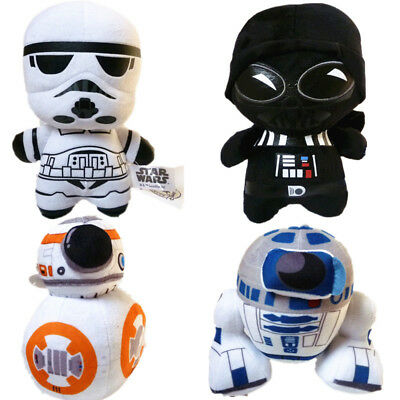 Cute Movie Star Wars Action Figures Soft Plush Doll Kids Baby Boy Girl Toy Gift